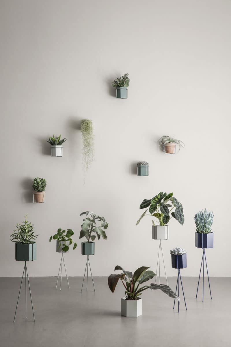Hexagonal Plant Pot from Ferm Living