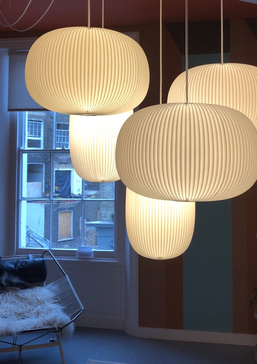 Danish designed lampshades